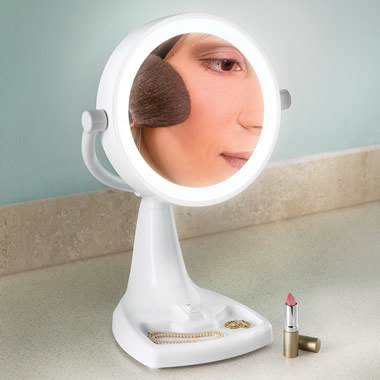 The World's Brightest Vanity Mirror.