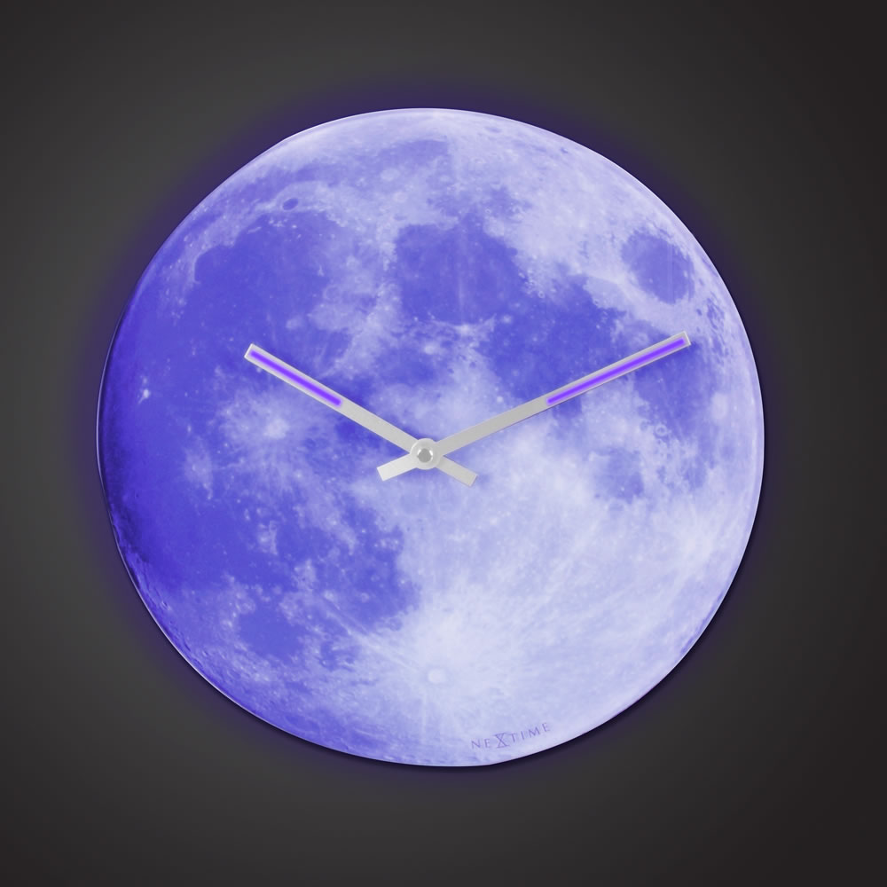 The Luminescent Moon Clock 2