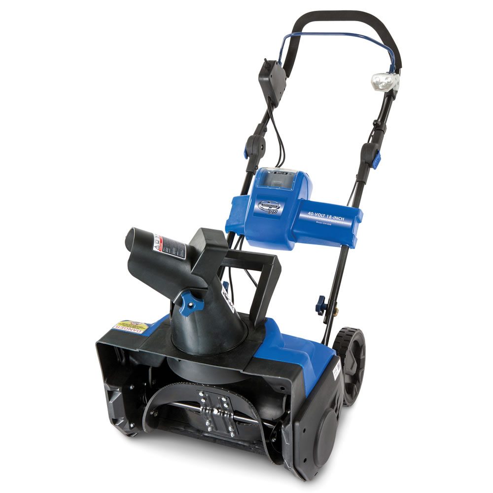 The Rechargeable Snow Blower2