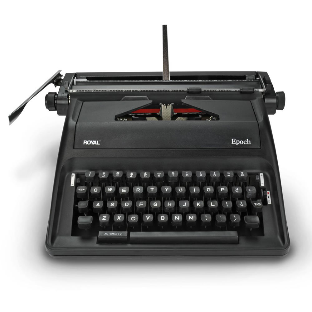 The Wordsmith's Manual Typewriter2