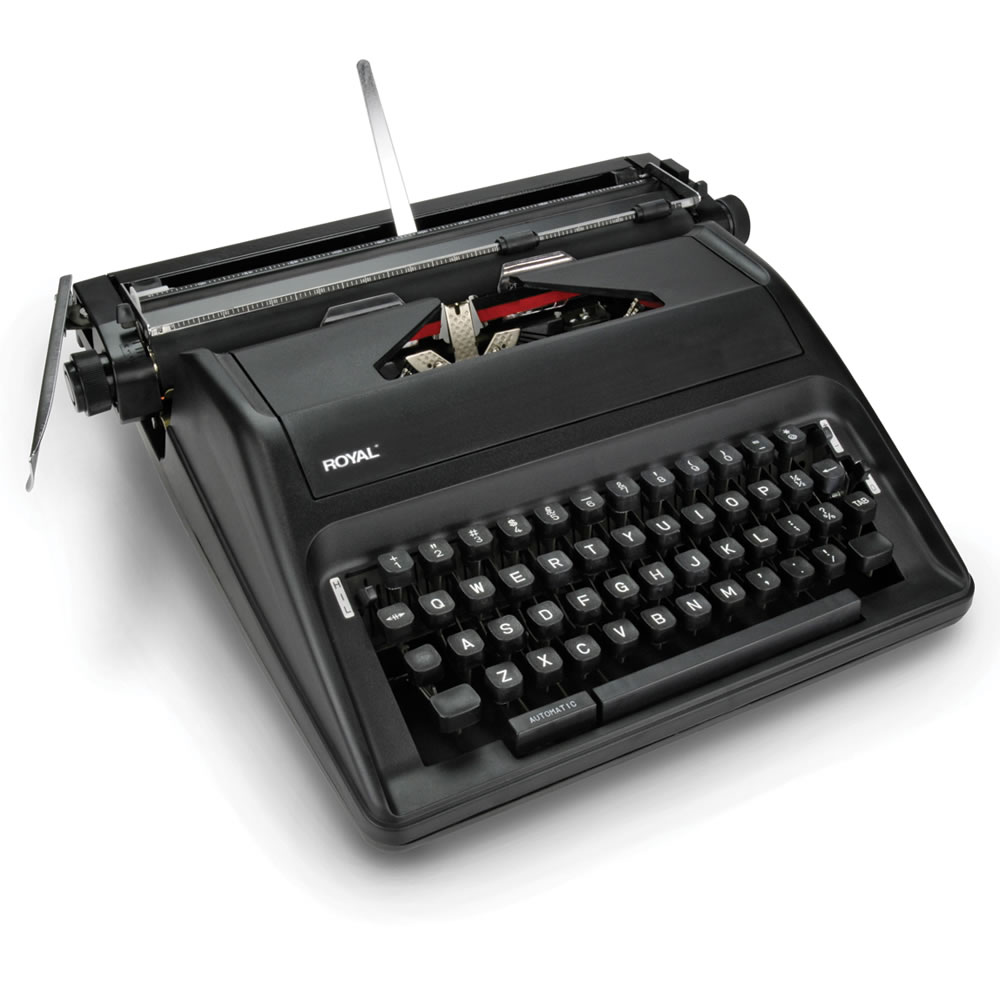 The Wordsmith's Manual Typewriter 1