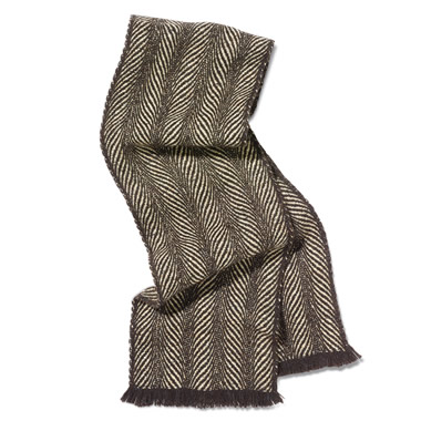 The Genuine Camel Hair Scarf.