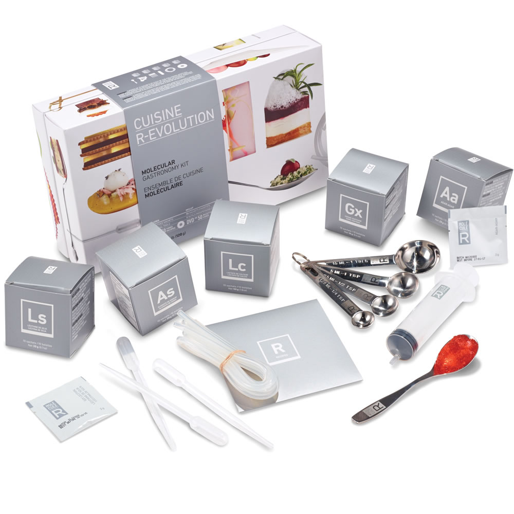 the molecular gastronomy exploration kit - hammacher schlemmer