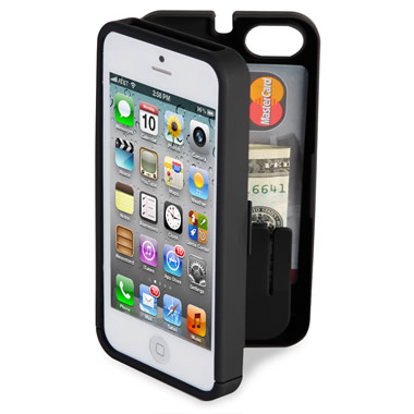 The iPhone 4/4S Polycarbonate Wallet.