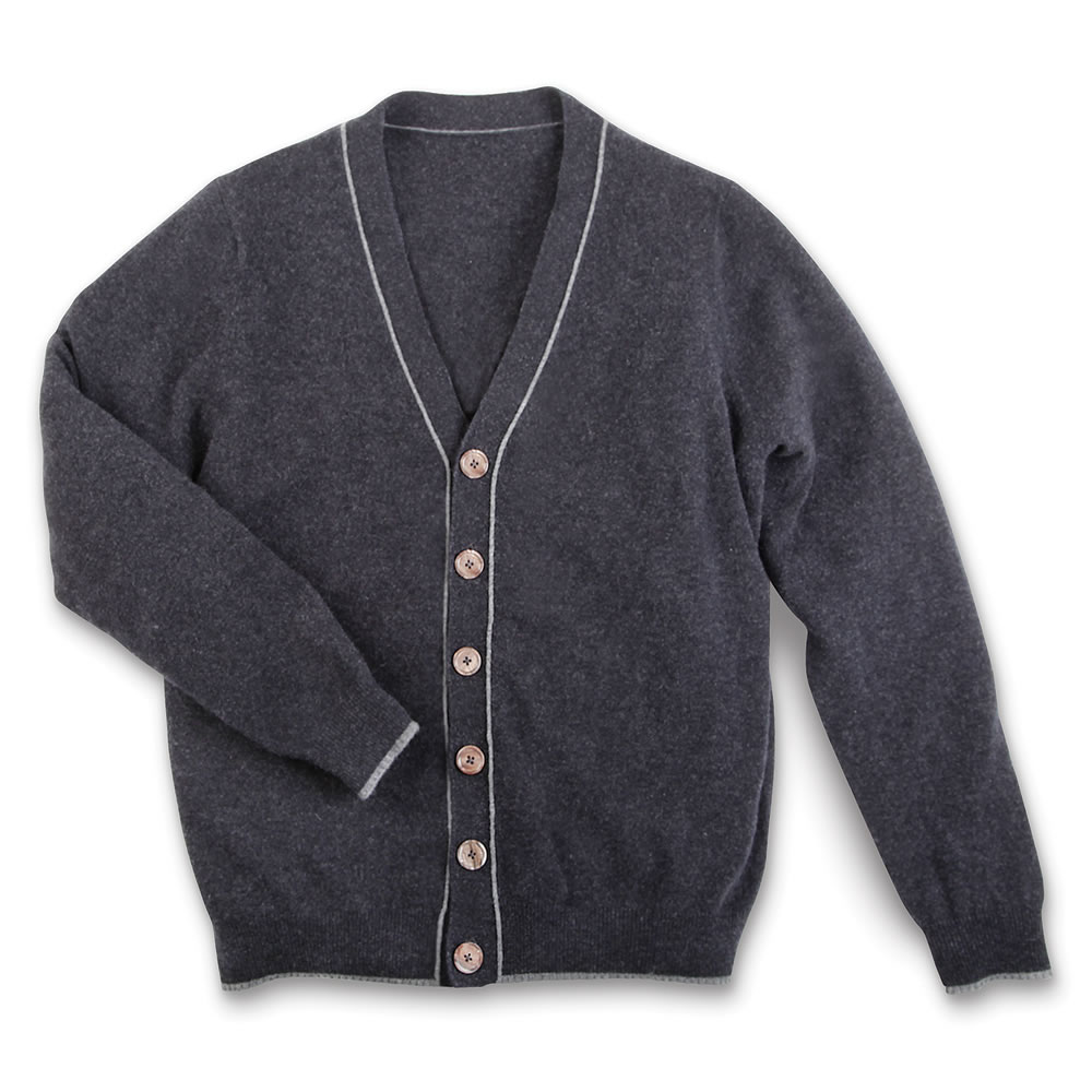The Gentleman's Washable Cashmere Cardigan 2