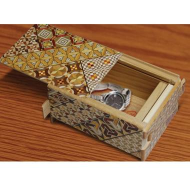 The Himitsu-Bako Puzzle Box.