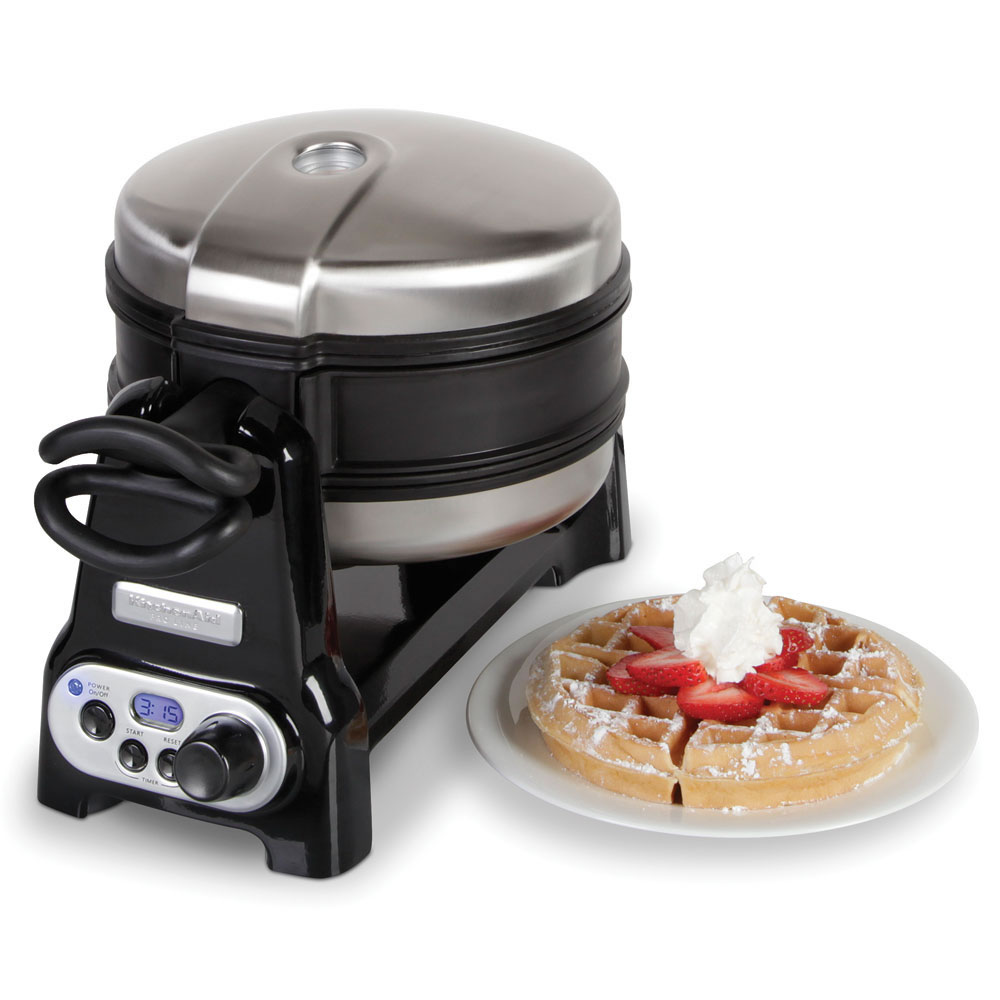 The Double Belgian Waffle Maker 2