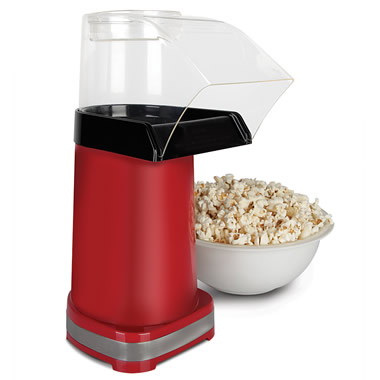 The One-Minute Hot Air Popcorn Maker.