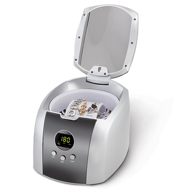 The 46,000 Hz Ultrasonic Jewelry Cleaner.