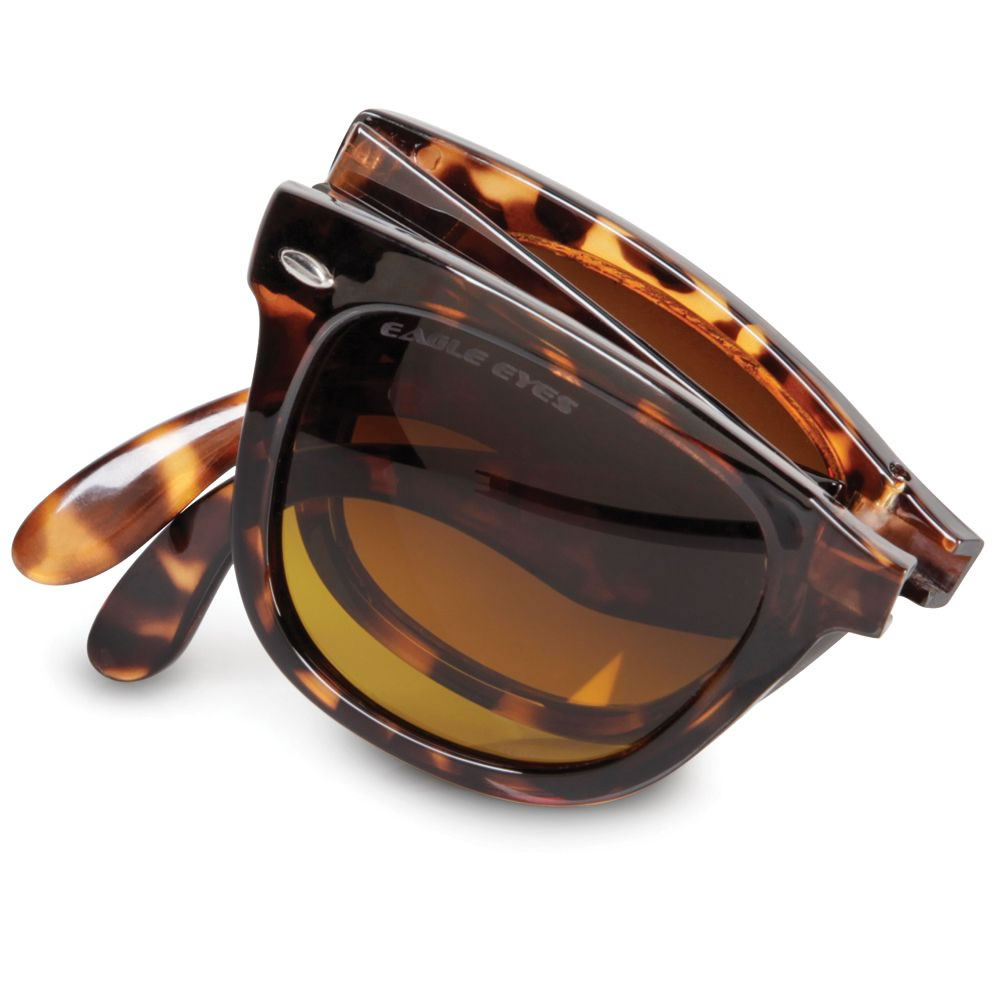 The Folding Clarity Enhancing Sunglasses 1
