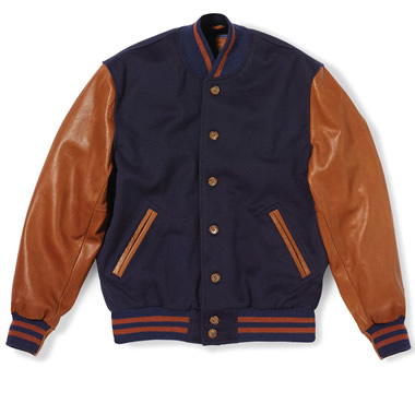 The Loro Piana Letterman's Jacket.
