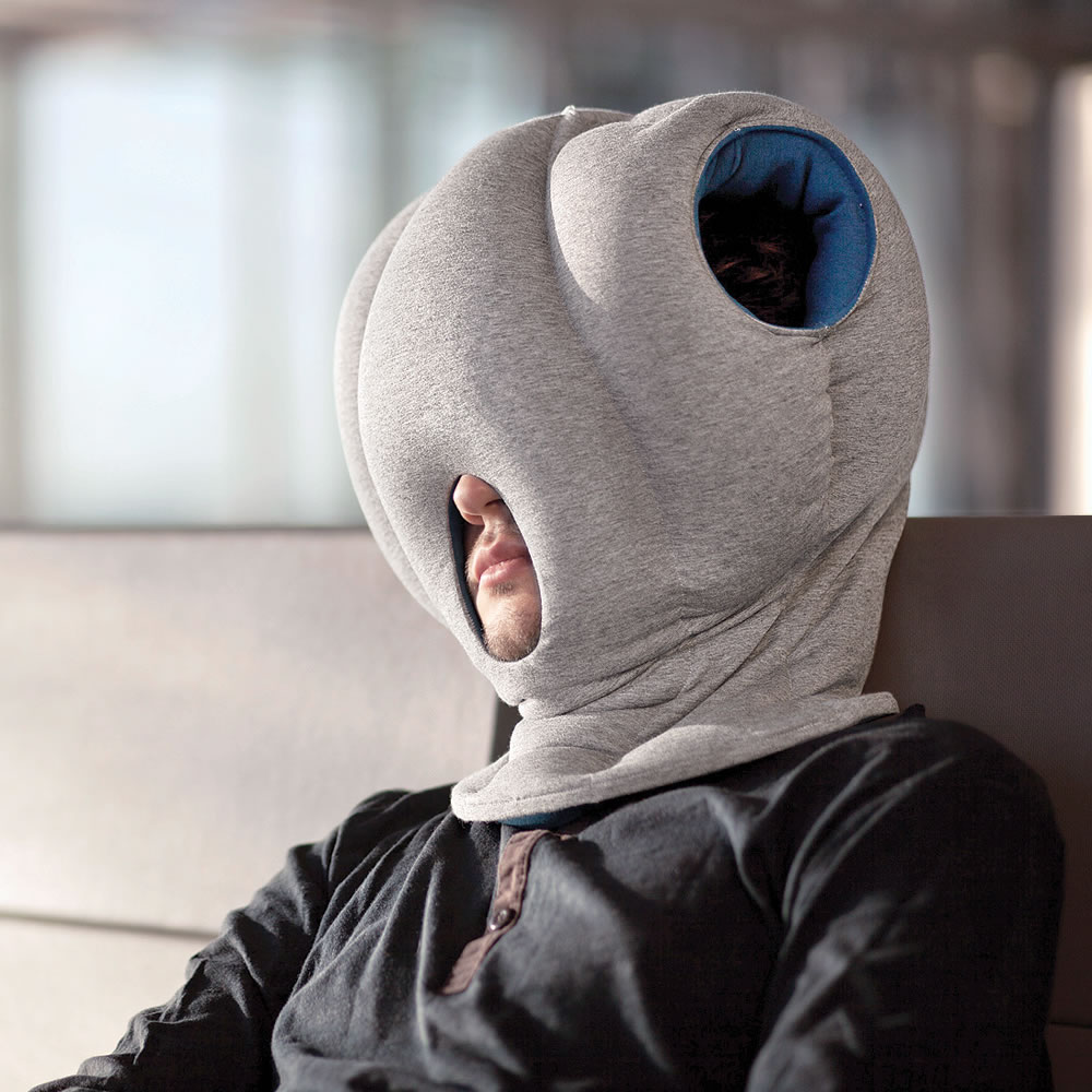 The Power Nap Head Pillow - Hammacher Schlemmer