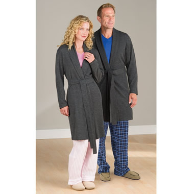 The Washable Merino Wool Robe.
