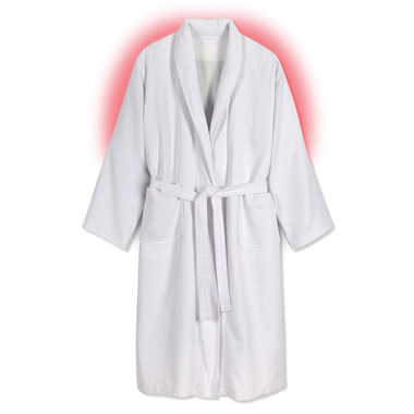 The Heated Cotton Robe.