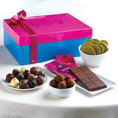 The Royal Warrant Chocolate Gift Box.
