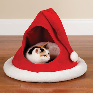 The Festive Feline's Holiday House.