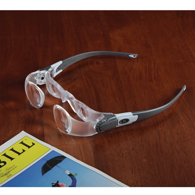 The Spectator's Binocular Glasses.