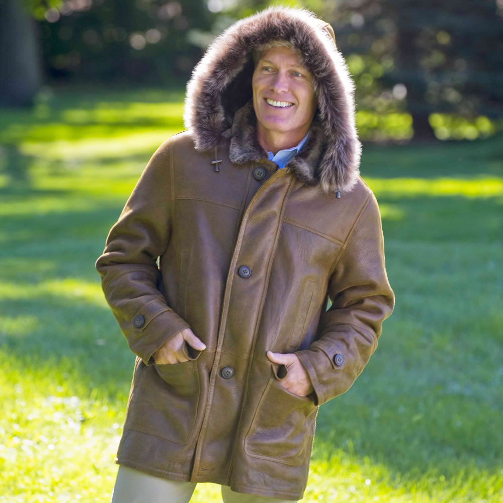 The Gentleman's Shearling Coat 2