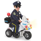 The Ride On Police Motorcycle.