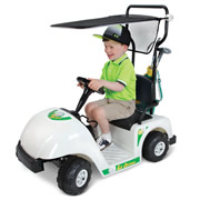 The Junior Golfer's Electric Golf Cart.