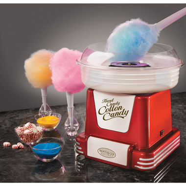 The Sugar Free Cotton Candy Maker.