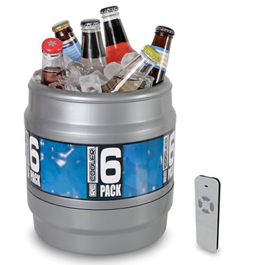 The Remote Controlled Rolling Beverage Cooler