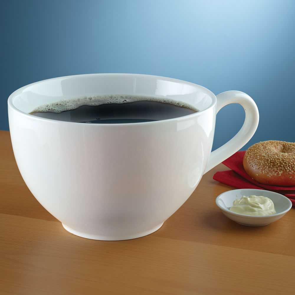 The Caffeine Craver's Colossal Coffee Cup 2
