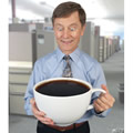 The Caffeine Craver's Colossal Coffee Cup.