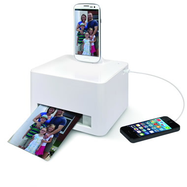 Android Smartphone Photo Printer.