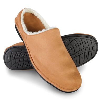 The Men's Relaxed Fit Slippers.