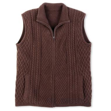 The Tibetan Wool Vest.