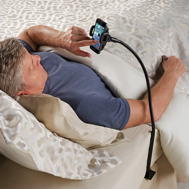 The Bedside Smartphone Stand.
