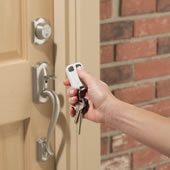 The Remote Control Deadbolt Activator.
