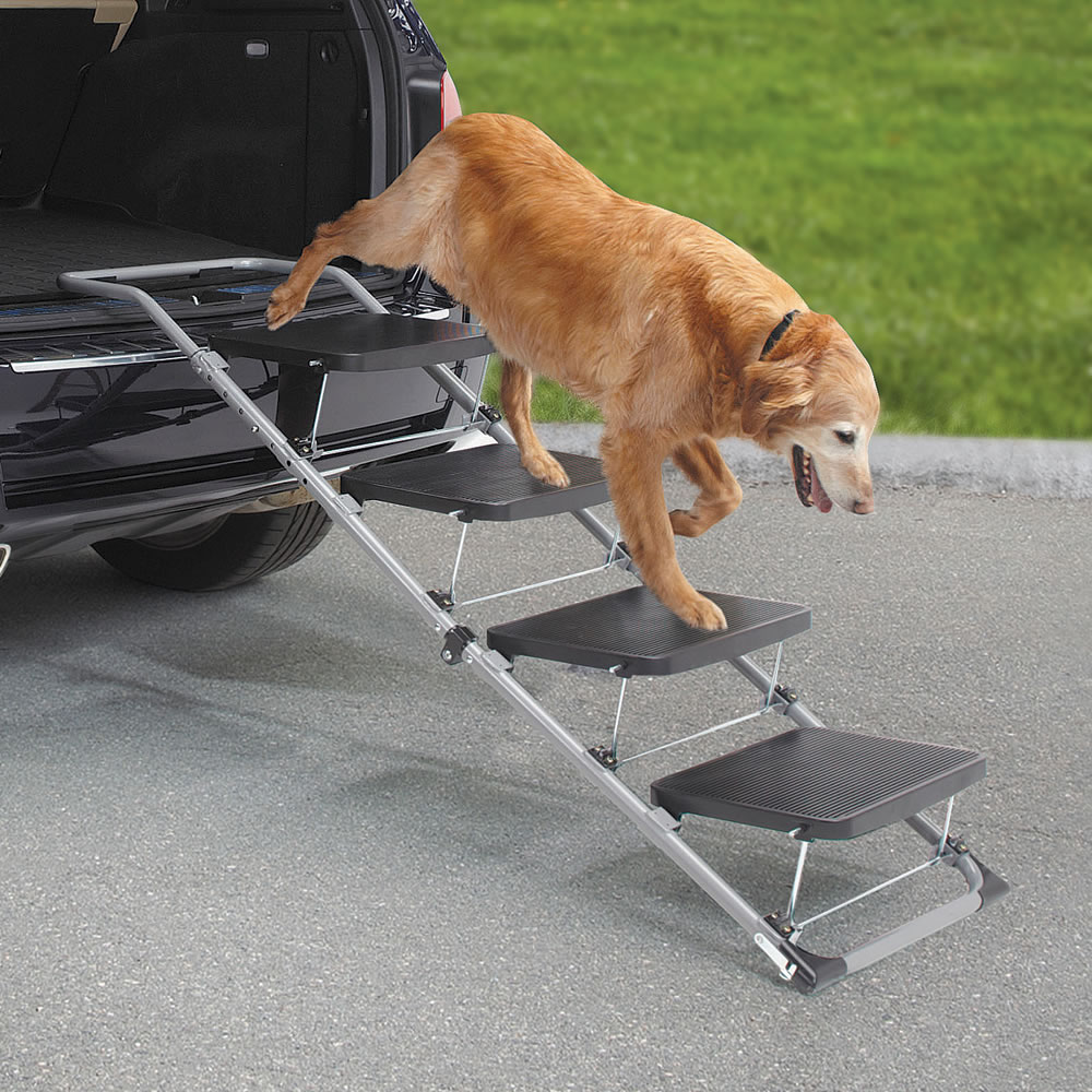 The Portable Pet Staircase or Ramp 2
