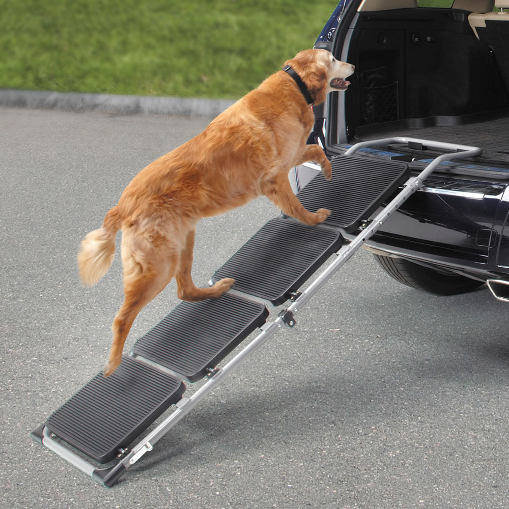 The Portable Pet Staircase or Ramp1