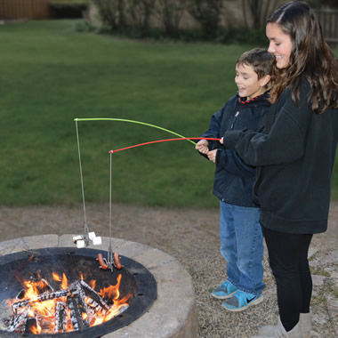 The Campfire Roasting Rod