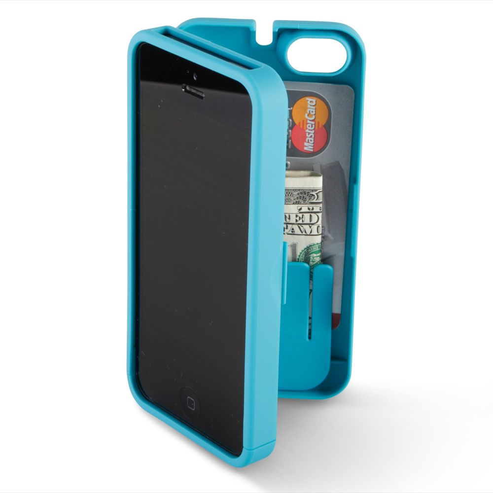 The iPhone 5/5s Polycarbonate Wallet (Colors) 4