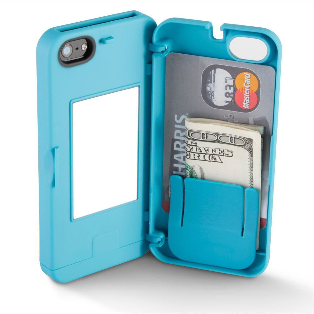 The iPhone 5/5s Polycarbonate Wallet (Colors) 5