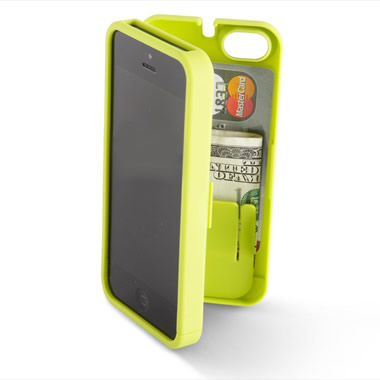The iPhone 5/5s Polycarbonate Wallet (Colors).