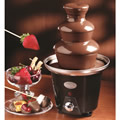 The Chocolate Fondue Fountain.