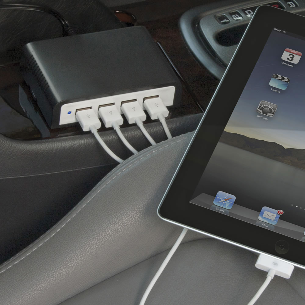 The Automobile's Four Device Charger2