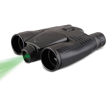 The Laser Illuminating Binoculars.