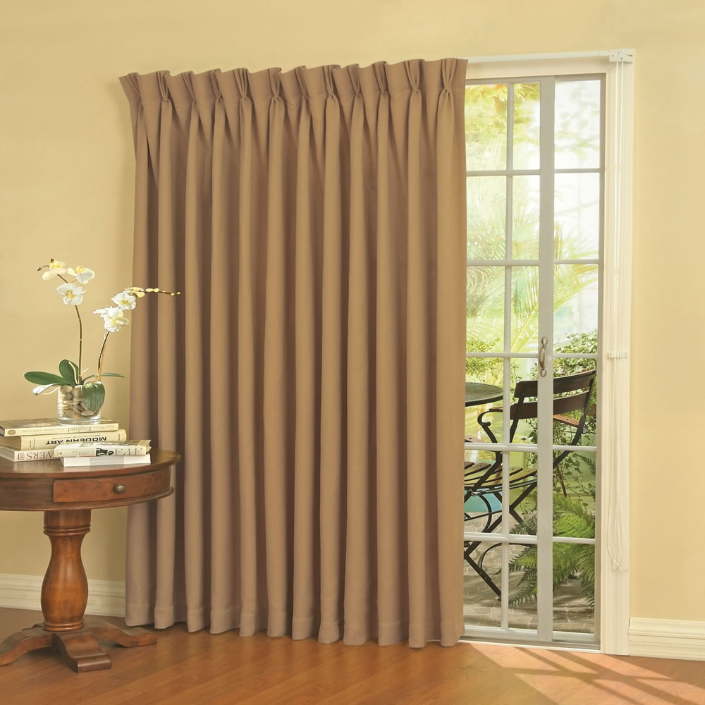 The Noise Reducing Patio Door Drapes 2