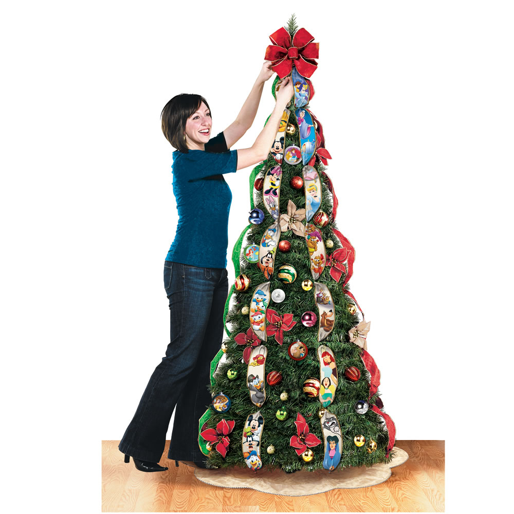 The Disney Pop-Up Christmas Tree - Hammacher Schlemmer