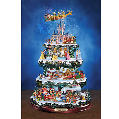 The Disney Animated Tabletop Tree