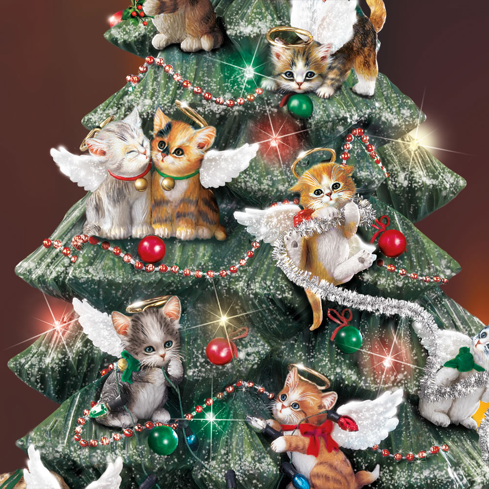 The Precocious Kittens Tabletop Tree 2
