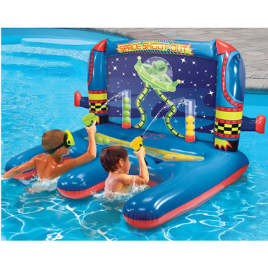 The Inflatable Water Shooting Float.