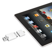 The Only Read And Write iPad Flash Drive. (64 GB)