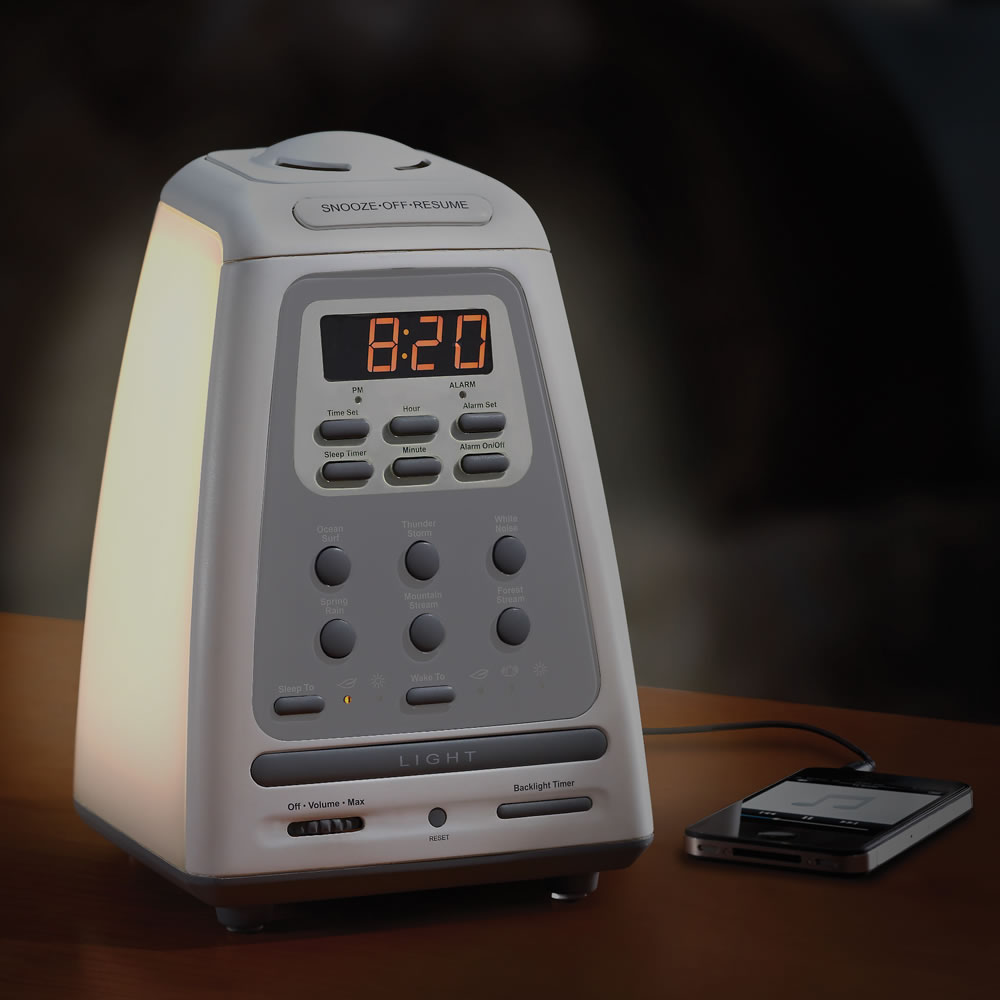 hammacher schlemmer sleep sound machine