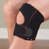 The Stabilizing Pain Relieving Knee Wrap.